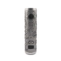 Authentic Teslacigs Punk 86W 18650 Mod 28mm - Gun Metal