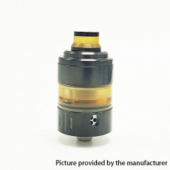 Hussar Project X Style 316SS 22mm RTA Rebuildable Tank Atomizer 2ml - Black