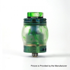 Authentic ADVKEN Manta 4.5ml Resin RTA Rebuildable Tank Atomizer - Green