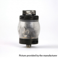 Authentic ADVKEN Manta 4.5ml Resin RTA Rebuildable Tank Atomizer - Black