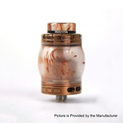 Authentic ADVKEN Manta 4.5ml Resin RTA Rebuildable Tank Atomizer - Coffee