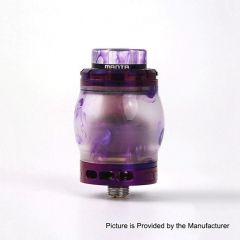 Authentic ADVKEN Manta 4.5ml Resin RTA Rebuildable Tank Atomizer - Purple