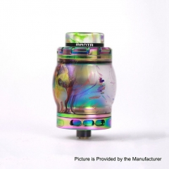 Authentic ADVKEN Manta 4.5ml Resin RTA Rebuildable Tank Atomizer - Rainbow