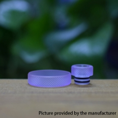 Never normal ring w/ 510 drip tip for 22mm Atomizer - Purple