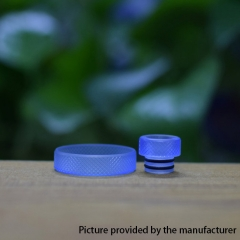 Never normal ring w/ 510 drip tip for 22mm Atomizer - Blue