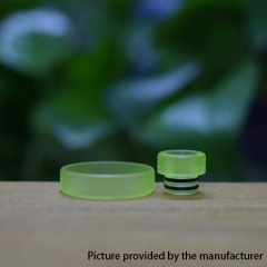 Never normal ring w/ 510 drip tip for 22mm Atomizer - Green