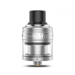 Authentic OBS Engine MTL 24mm RTA Rebuildable Tank Atomizer 2ml - Silver