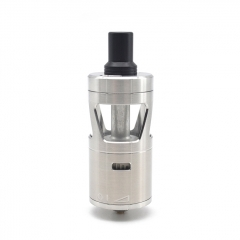 ULTON SQN Enduro Style 316SS 24mm MTL RTA Rebuildable Dripping Atomizer 5ml - Silver