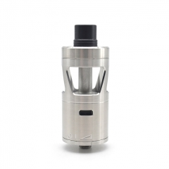 ULTON SQN Enduro Nduro Style 316SS 24mm DL RTA Rebuildable Dripping Atomizer 5ml - Silver