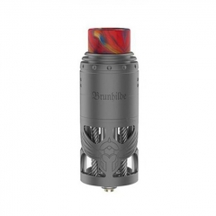 Authentic Brunhilde 25mm RTA Rebuildable Tank Atomizer 8ml - Gun Metal