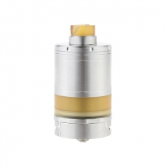 Vazzling VG V5 XL Style 32.5mm 316SS RTA Rebuildable Tank Atomizer 14ml - Silver