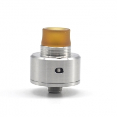 ULTON Shift Batch 2 Style 316SS 22mm RDA w/ Extra Transparent Cap - Silver