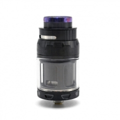 (Ships from Germany)ULTON Juggerknot Mini 24mm Style RTA Rebuildable Tank Atomizer 2/4.5ml (With Logo) - Black