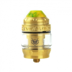 Authentic Advken Owl 25mm Sub Ohm Tank Clearomizer 4ml - Gold