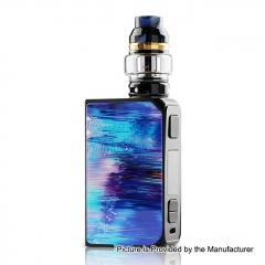 Authentic CoilART LUX 200W TC VW Variable Wattage Box Mod + LUX Mesh Tank 5.5ml Kit - Blue
