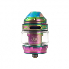 Authentic Advken Owl 25mm Sub Ohm Tank Clearomizer 4ml - Rainbow