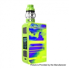 Authentic CoilART LUX 200W TC VW Variable Wattage Box Mod + LUX Mesh Tank 5.5ml Kit - Green