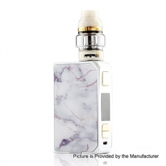 Authentic CoilART LUX 200W TC VW Variable Wattage Box Mod + LUX Mesh Tank 5.5ml Kit - White