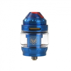 Authentic Advken Owl 25mm Sub Ohm Tank Clearomizer 4ml - Blue