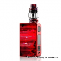 Authentic CoilART LUX 200W TC VW Variable Wattage Box Mod + LUX Mesh Tank 5.5ml Kit - Red