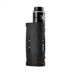 Authentic Vapor Storm Puma Baby 80W TC VW Variable Wattage Box Mod + Lion RDA Kit - Black