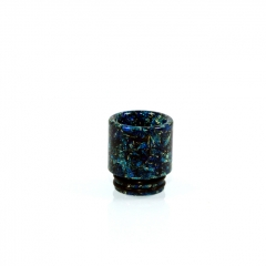 810 Replacement Opal Dollar Drip Tip 16mm (1pc) #A - Blue
