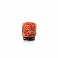 810 Replacement Opal Dollar Drip Tip 16mm (1pc) #C - Orange