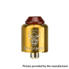 Authentic Ystar Hell Demons 20mm RDA Rebuildable Dripping Atomizer w/BF Pin - Gold