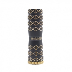 Hammerhand Style 18650 Hybrid Mechanical Mod 1:1 - Black