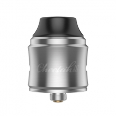 Authentic OBS Cheetah 3 25mm RDA Rebuildable Dripping Atomizer w/BF Pin - Gray