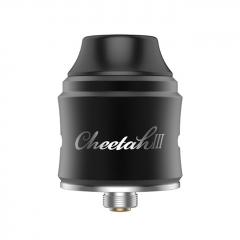 Authentic OBS Cheetah 3 25mm RDA Rebuildable Dripping Atomizer w/BF Pin - Black