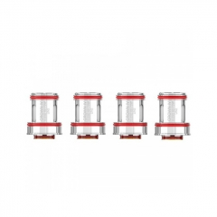 Authentic Uwell Crown 4 IV Replacement UN2 Mesh Coil Head 0.23ohm (4-Pack)