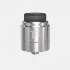 Authentic Vandy Vape Widowmaker 24mm RDA Rebuildable Dripping Atomizer w/ BF Pin - Silver