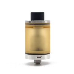 Doggystyle 2K18 V2 Style 22mm RTA Rebuildable Tank Atomizer 3.5ml - Silver
