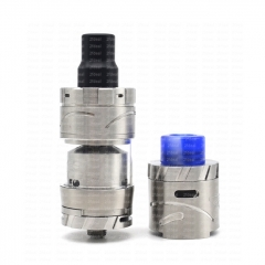 (Ships from Germany)ULTON Amadeus Style 24mm RTA/ RDA Combo Set - Silver