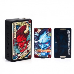Authentic Vapelustion Hannia 230W TC VW Variable Wattage Box Mod