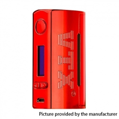 Authentic VapeCige VTX 100W 18650/26650 TC VW Variable Wattage Box Mod - Red