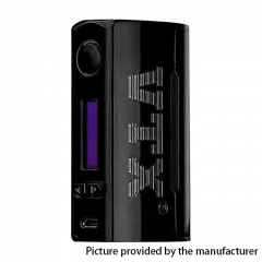Authentic VapeCige VTX 100W 18650/26650 TC VW Variable Wattage Box Mod - Black