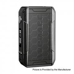 Authentic Wismec SINUOUS V200 200W TC VW Variable Wattage Box Mod - Black
