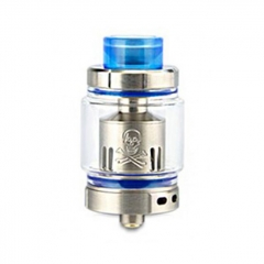 Authentic Ystar Baby Mesh Sub Ohm Clearomizer Tank 6.0ml /0.15ohm - Silver Blue