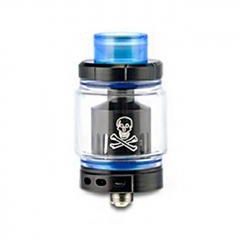 Authentic Ystar Baby Mesh Sub Ohm Clearomizer Tank 6.0ml /0.15ohm - Black Blue