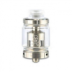 Authentic Ystar Baby Mesh Sub Ohm Clearomizer Tank 6.0ml /0.15ohm - Silver