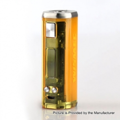 Authentic Wismec SINUOUS V80 80W 18650 TC VW Variable Wattage Box Mod - Yellow