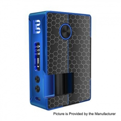 Authentic Blitz Vigor 81W 18650/20700 TC VW Variable Wattage Squonk Box Mod 10ml - Black