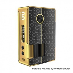 Authentic Blitz Vigor 81W 18650/20700 TC VW Variable Wattage Squonk Box Mod 10ml - Gold