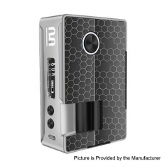 Authentic Blitz Vigor 81W 18650/20700 TC VW Variable Wattage Squonk Box Mod 10ml - Silver