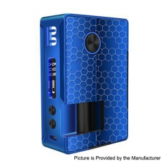 Authentic Blitz Vigor 81W 18650/20700 TC VW Variable Wattage Squonk Box Mod 10ml - Blue