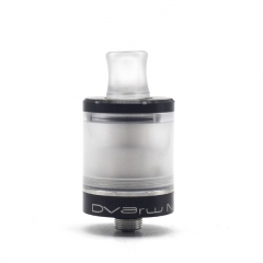 Vazzling Dvarw V2 Style 22mm 316SS MTL RTA Top Filling 2ml - Black