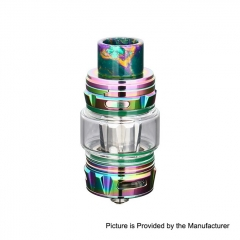 Authentic Horizon Falcon King 25.4mm Sub Ohm Tank Clearomizer 6ml/0.38, 0.18ohm - Rainbow