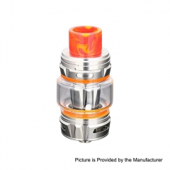 Authentic Horizon Falcon King 25.4mm Sub Ohm Tank Clearomizer 6ml/0.38, 0.18ohm - Bright Chrome